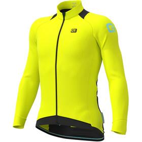 Alé Cycling Klimatik Klima Winter Maglia Jersey A Maniche Lunghe Uomo, fluo yellow
